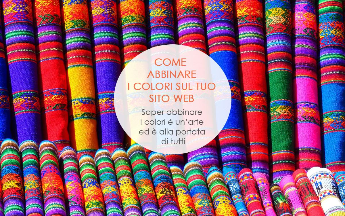 Come abbinare i colori sul tuo sito web