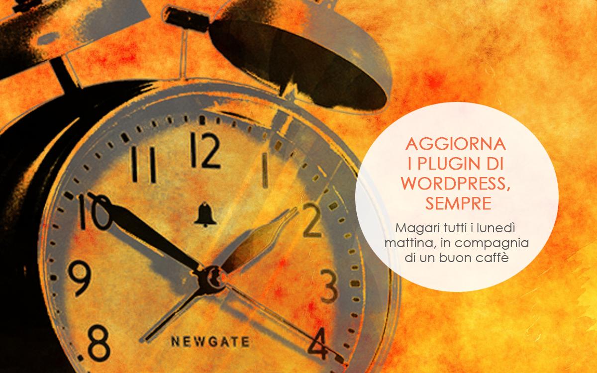 Aggiorna i plugin di Wordpress, sempre