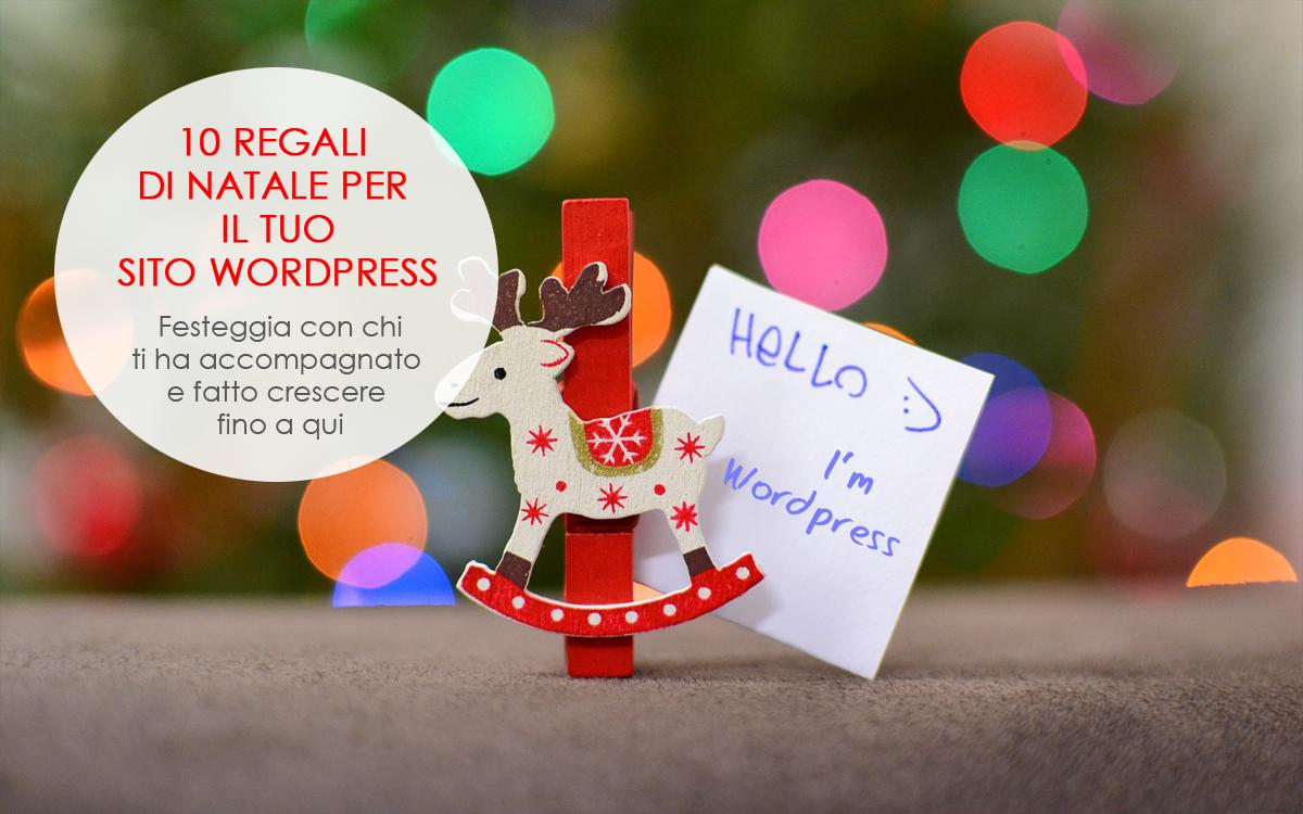 10 regali di Natale per il tuo sito WordPress