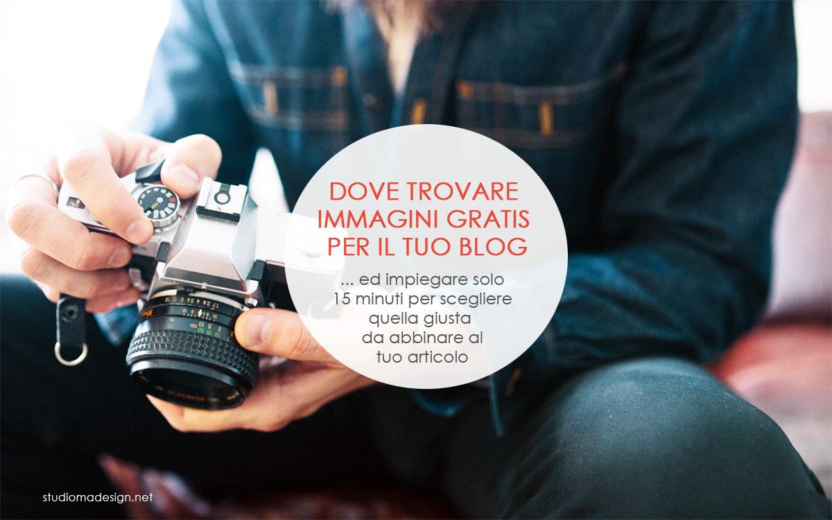 Dove trovare immagini gratis per il tuo blog