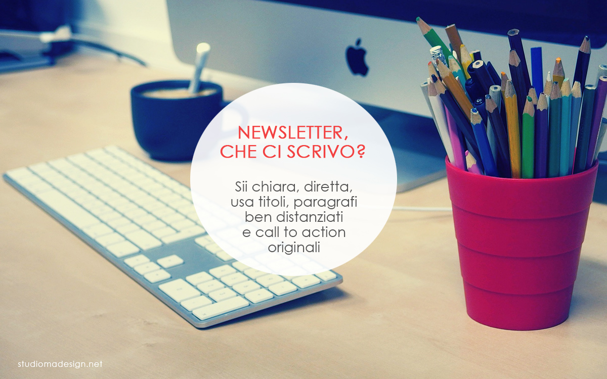 Scrivere una newsletter efficace