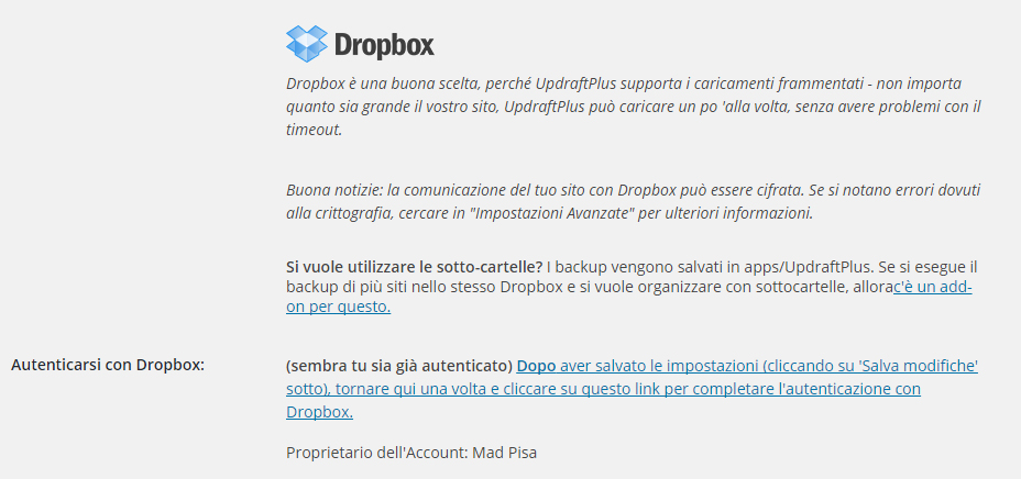 UpdraftPlus Backup/Restore - Come fare un backup sul tuo sito WordPress