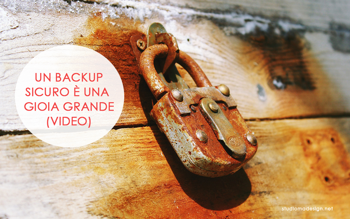 Come fare il backup di WordPress