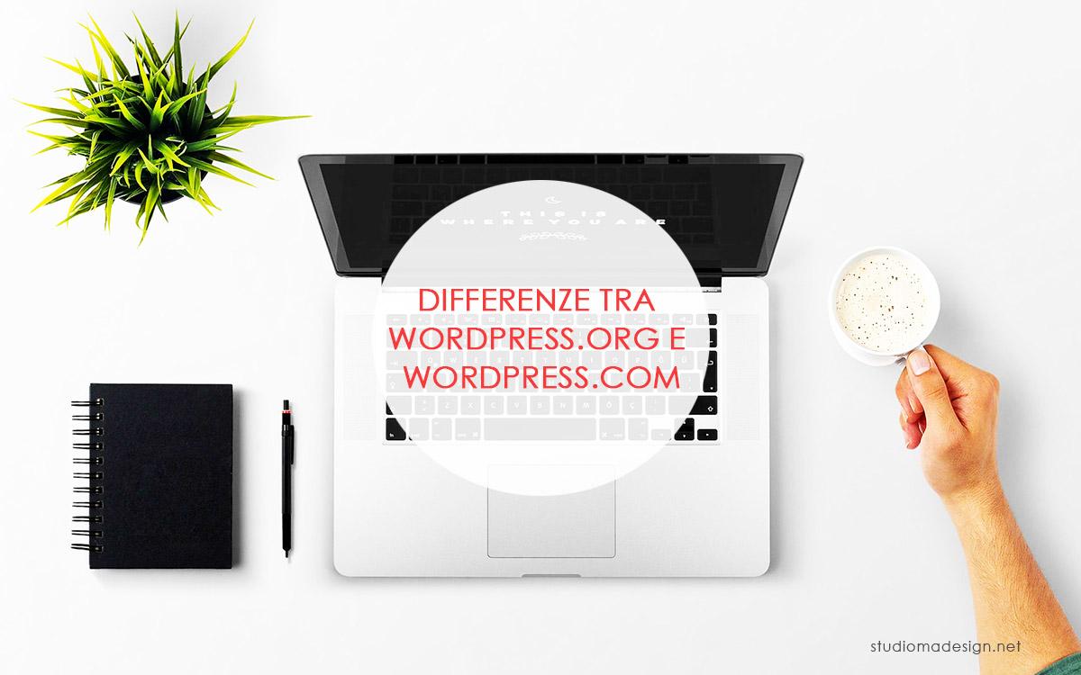Differenza tra wordpress.org e wordpress.com