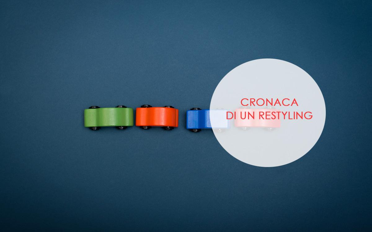 Cronaca di un restyling sito web cosa si fa madesign for Sito di design