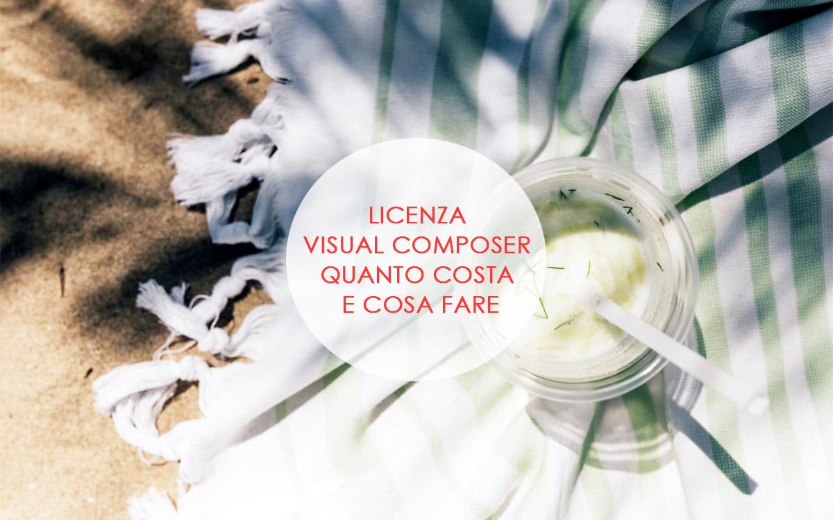 Licenza Visual Composer: quanto costa e cosa fare