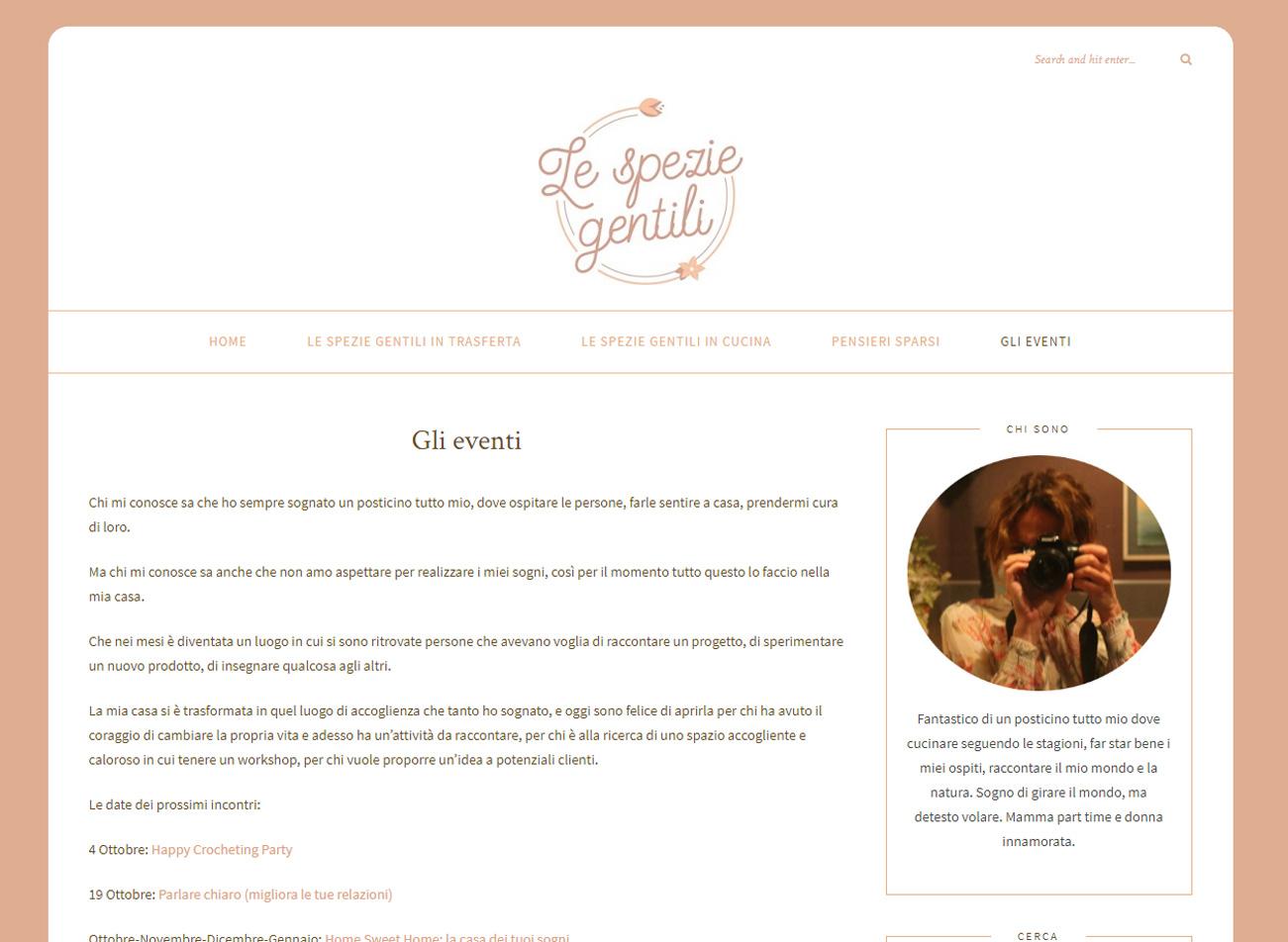 Le Spezie Gentili - prima del restyling