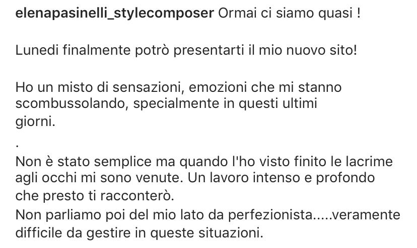 Elena Pasinelli Testimonianza