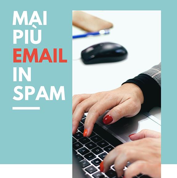 Mai più email in SPAM - Madesign