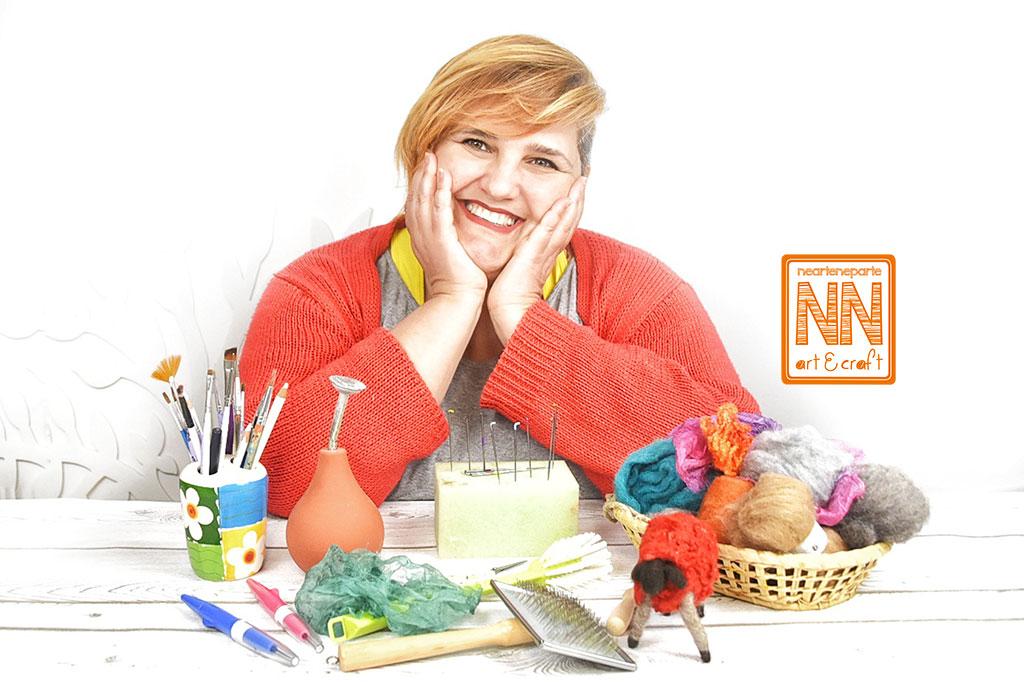 Scuola Feltro NearteNeparte art&craft di Anna Esposito
